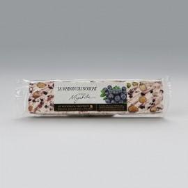 Barre nougat tendre aux myrtilles 100g