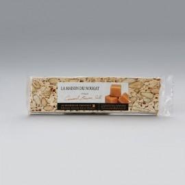 Barre nougat tendre au caramel beurre salé 100g