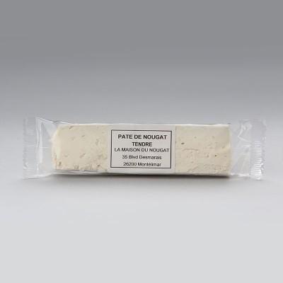 Barre pâte de nougat tendre nature 100g
