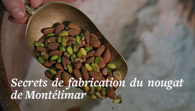 Fabrication artisanale du nougat de Montélimar