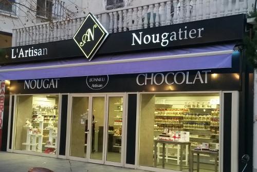 Pr sentation l 39 artisan nougatier - Boutique orange montelimar ...