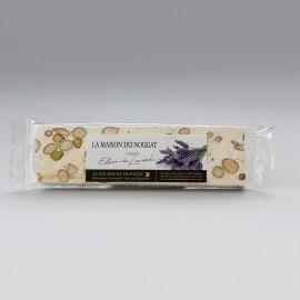 Barre nougat tendre aux fleurs de lavande 100g