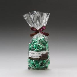 Sachet dominos nougat tendre Premium enrobé au chocolat noir 500g