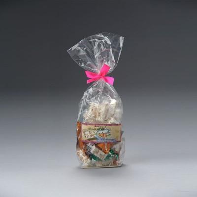 Sachet assortiment dominos nougat tendre Premium et enrobé chocolat 200g