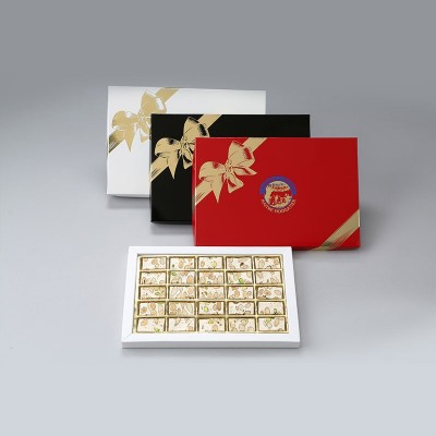 Coffret luxe dominos nougat tendre