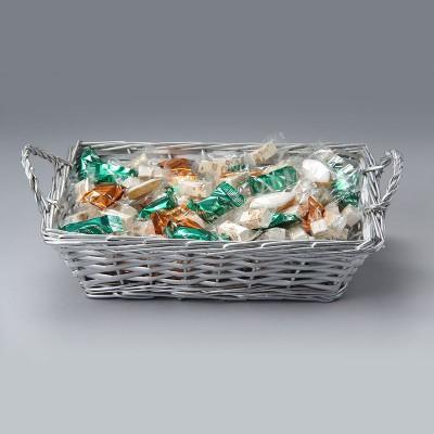 Panier assortiment nougat tendre Premium et nougat enrobé chocolat 1000g